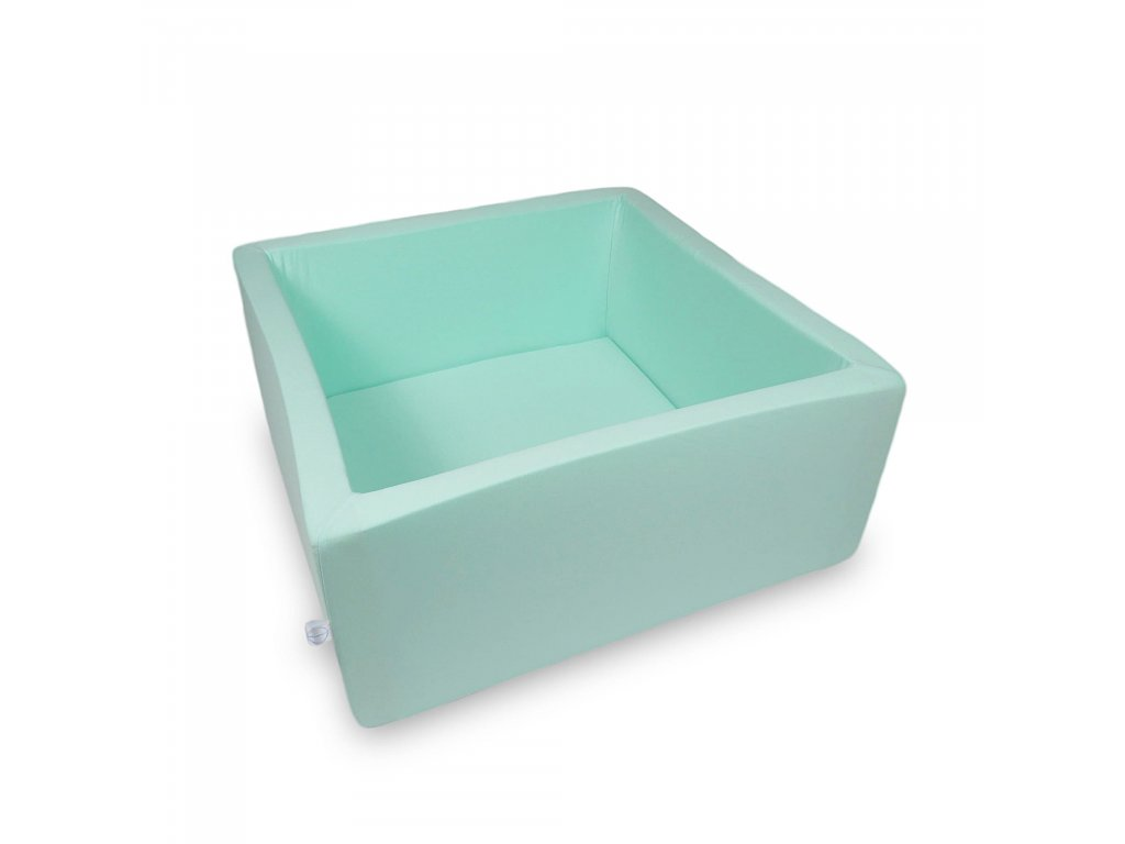 Suchý bazének bez kuliček hranatý, mintový (Rozměr 90x90x40 cm)