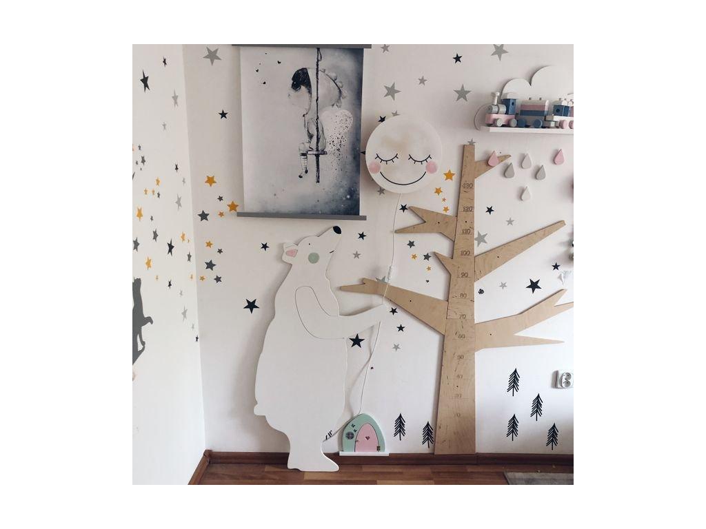 medvěd bílý velký