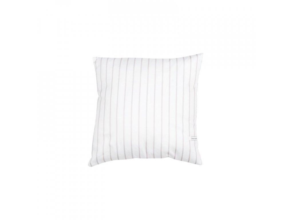 polstarek bavlneny stripes bila 01