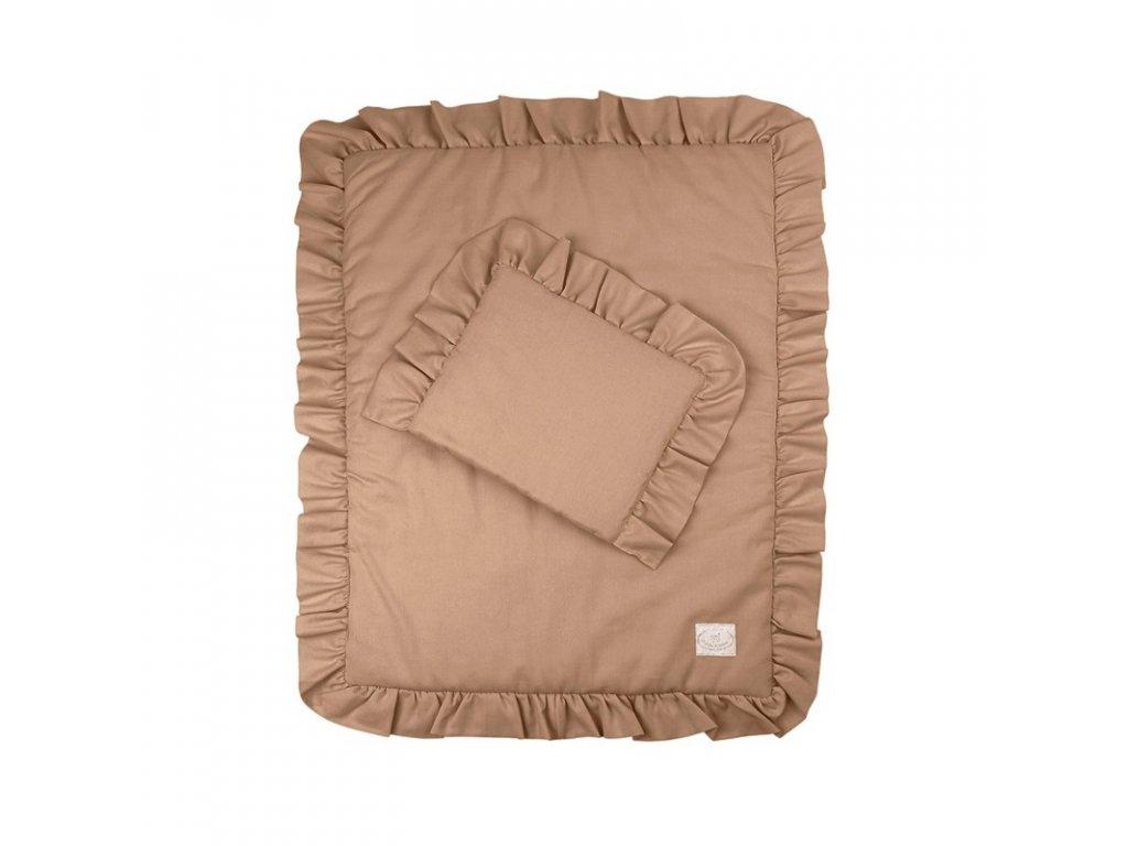 povleceni bavlnene s kanyrem s vyplni 50x60 cokoladova 01