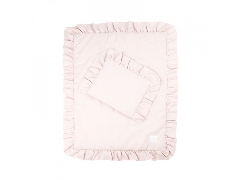 povleceni bavlnene s kanyrem s vyplni 50x60 pudrova ruzova 01