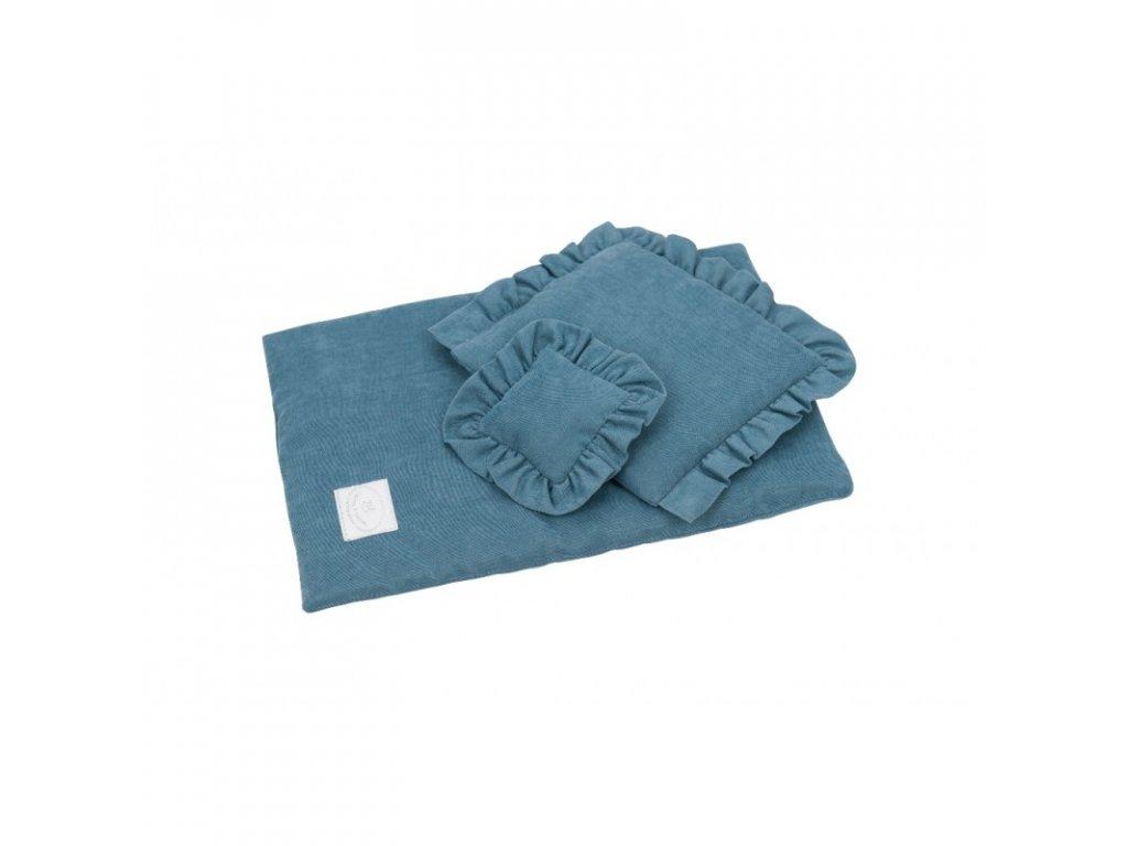 povleceni bavlnene pro panenky modra laguna 01
