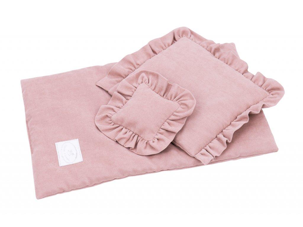 povleceni bavlnene pro panenky ruzova 01