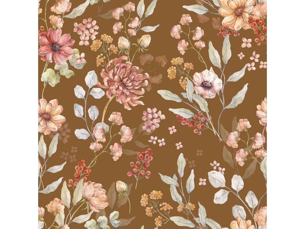 Autumn Meadow Brown tapeta 001