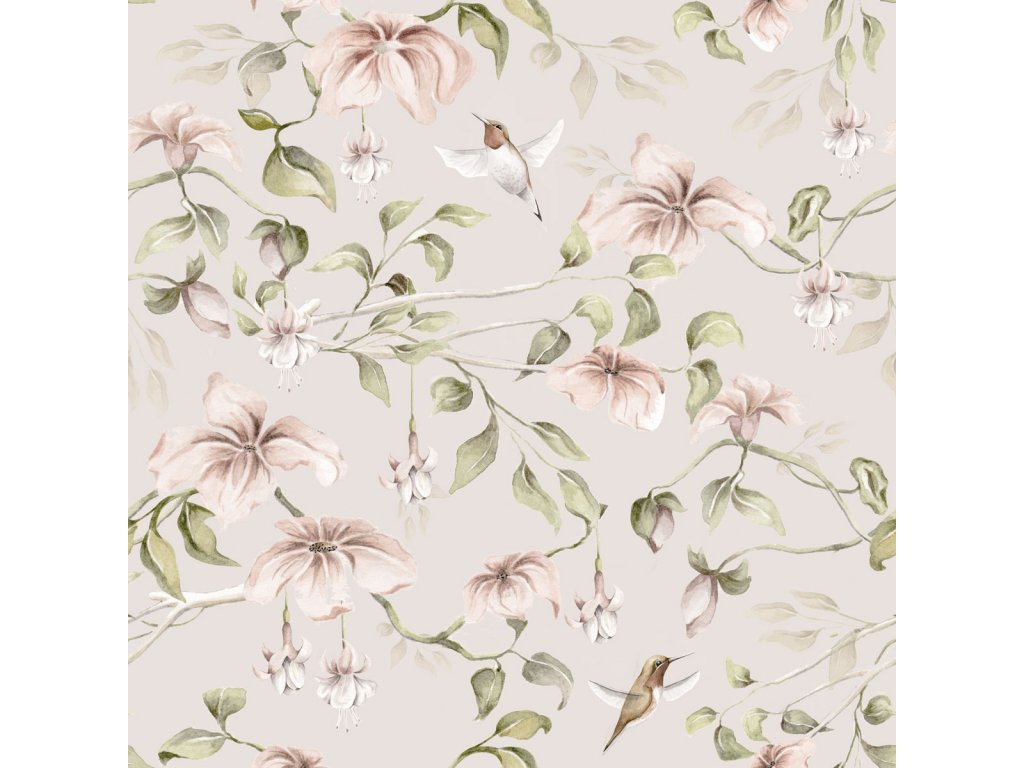 Between the paradise trees Coffee Wallpape 001