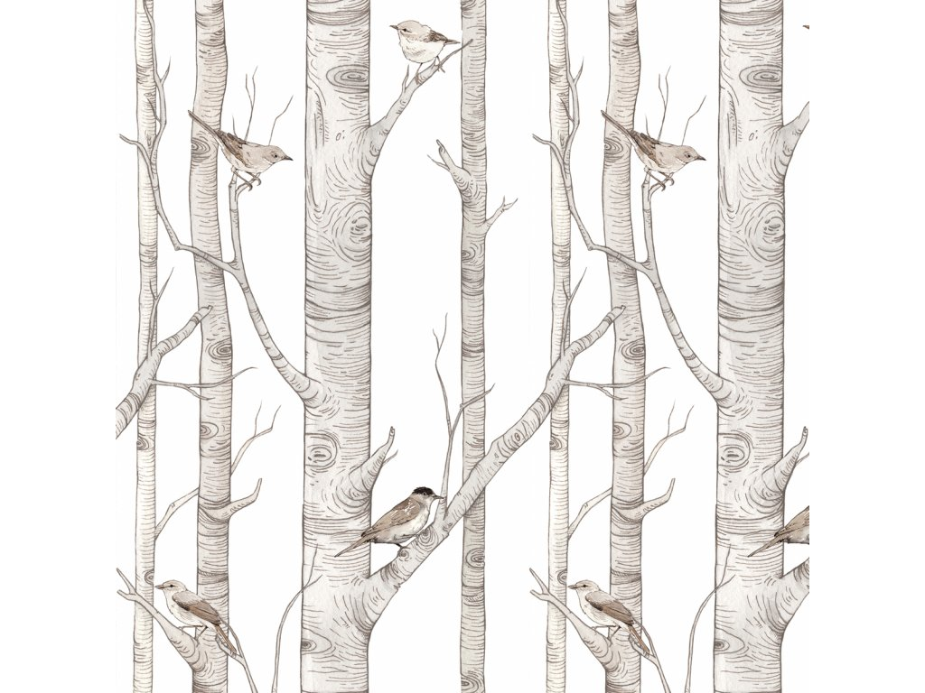 Birch Forest tapeta 001