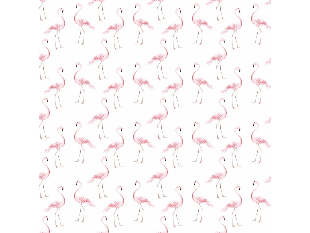 Flamingos wallpaper 001