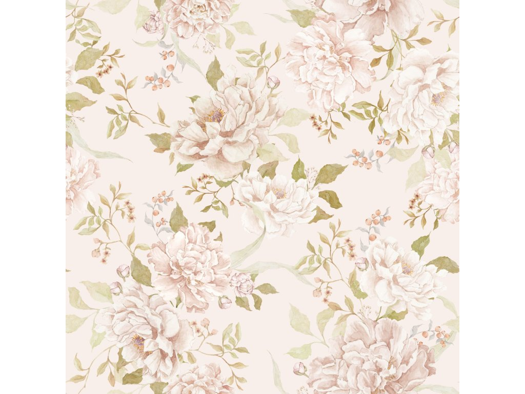 Floral Romantism Wallpaper 001