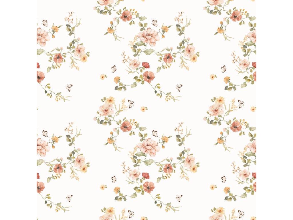 Floral Vintage Wallpaper 001
