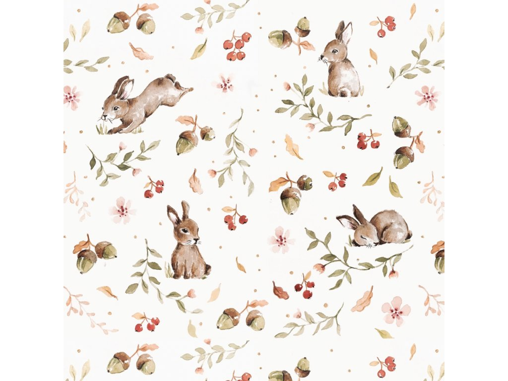 Happy Rabbits wallpaper 001
