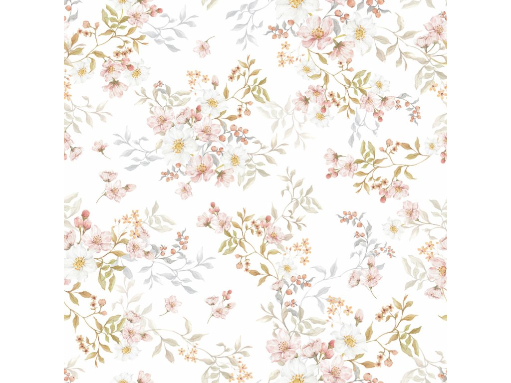 Pastels in bloom Wallpaper 001