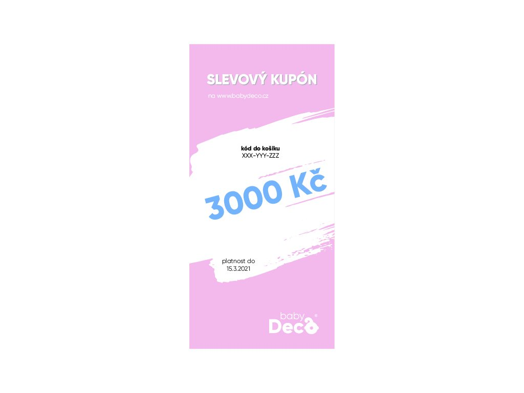 darkovy poukaz 3000