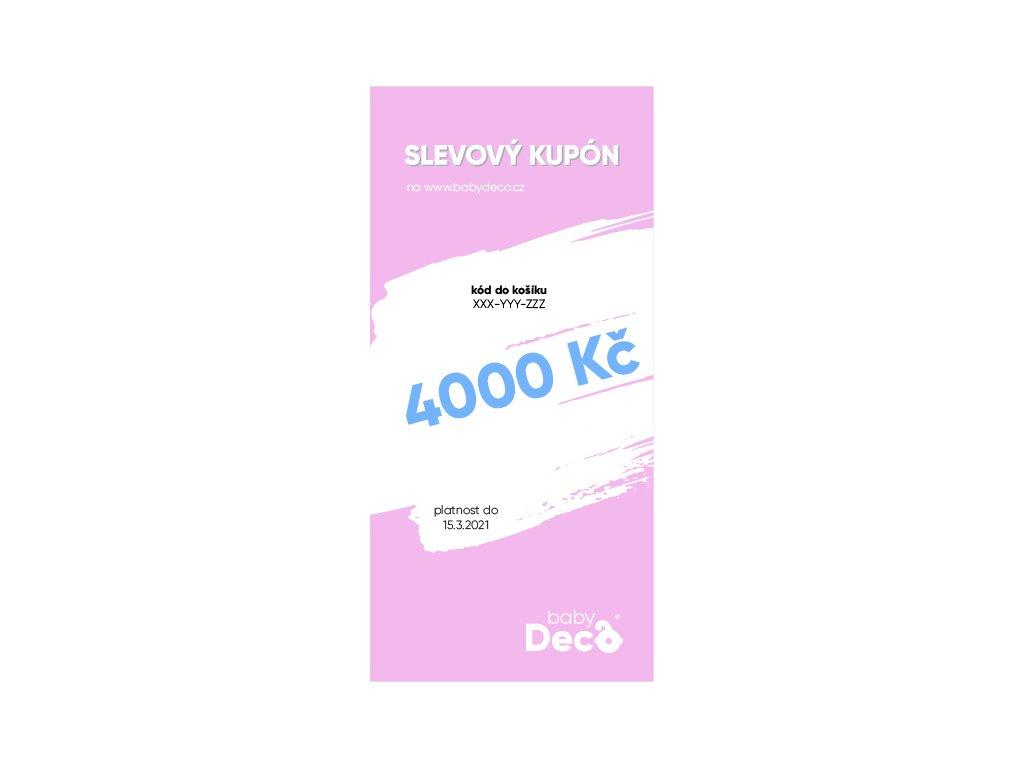 darkovy poukaz 4000