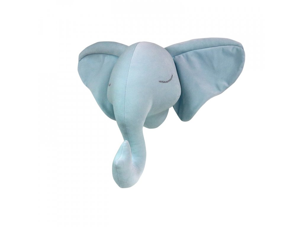 Slon na zeď sv.modrý