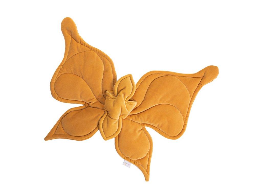 Motýl na stěnu hořčičná