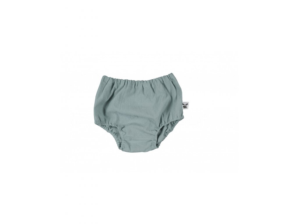 bloomers old green washed cotton