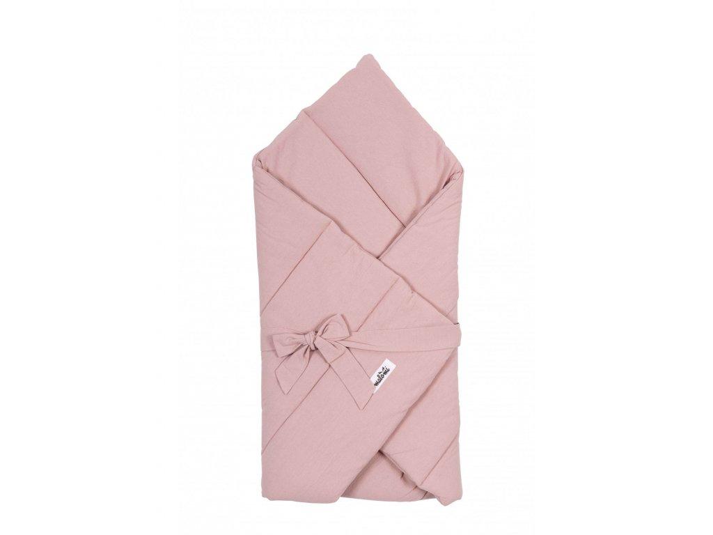 rozek niemowlecy washed pink