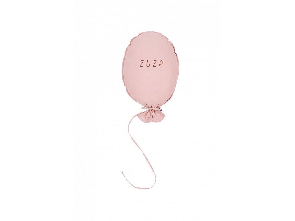 poduszka balon dusty pink