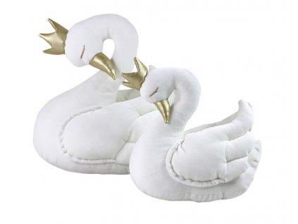 Královská labuť bílá (Velikost 30 cm)