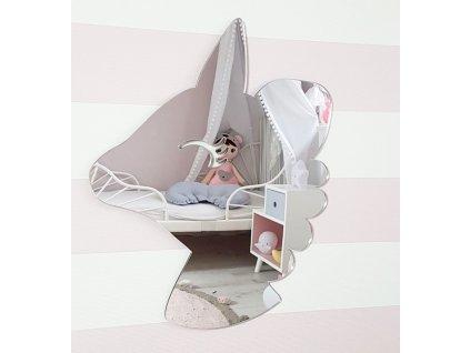 1957 jednorozec unicorn lustro mirror