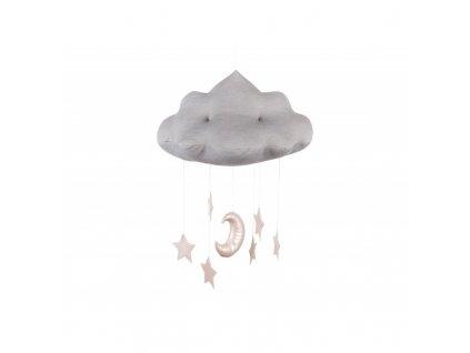 chmurka dekoracyjna szara (2)