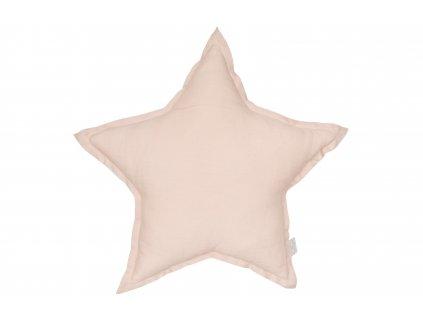 1338 polstar lneny hvezda pudrova ruzova