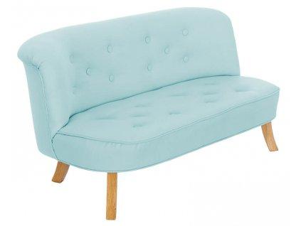 somebunny sofa len niebieska