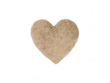 polstarek boho srdce cokoladova 01