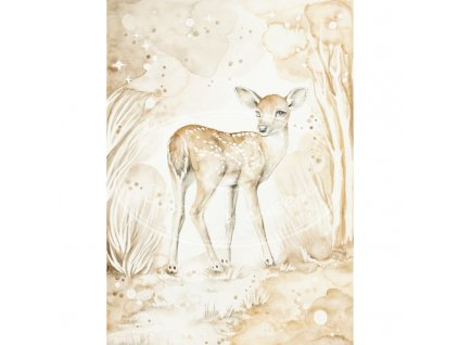 plakat lovely fawn 50x70 01