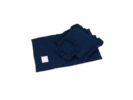 povleceni bavlnene pro panenky tmave modra 01