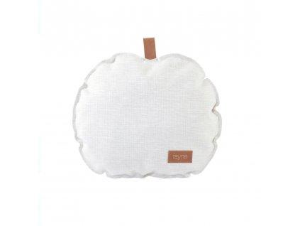 apple pillow ecru