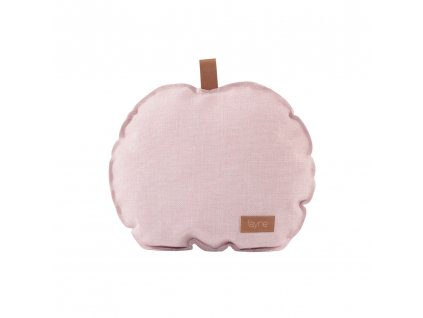 apple pillow pink