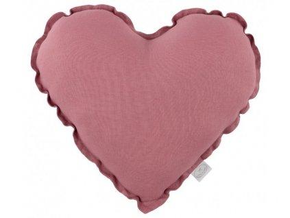 polstarek srdce sladka ruzova