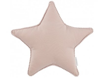 polstarek boho hvezda pudrova ruzova