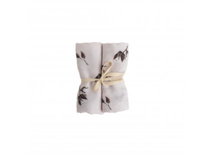 muselinova bambusova decka 2kusy kvet bavlny