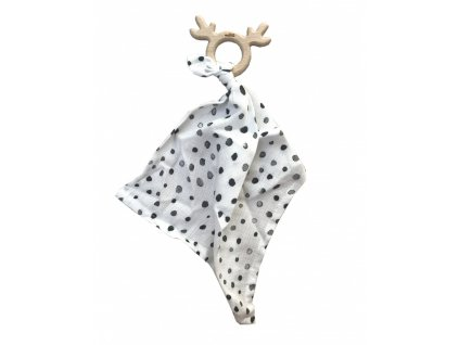 teetherbamboo cuddly toy dots