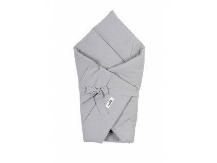 rozek niemowlecy washed grey
