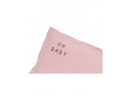 poduszka oh baby washed pink s