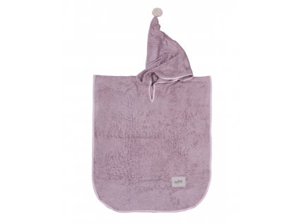 poncho bamboo dusty pink