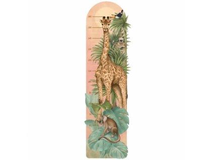 safari miarka. naklejka dla dzieci. dekoracje pokoju