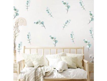 liscie naklejka. naklejka dla dzieci. dekoracje pokoju (2)