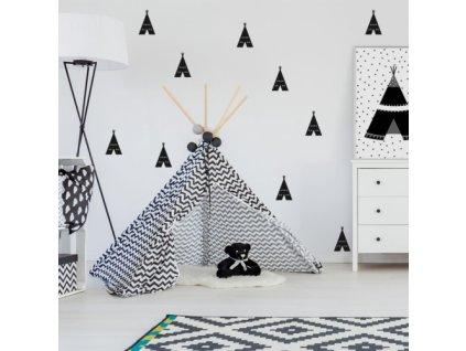tipi naklejka. naklejka dla dzieci. dekoracje pokoju (1)