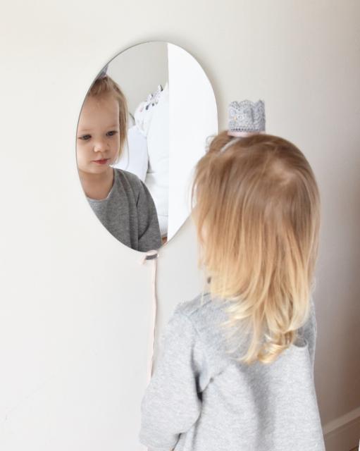 BabyDeco - Zrcadlo na zeď balónek