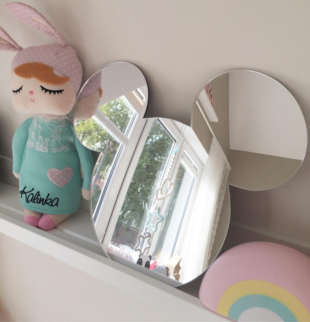 BabyDeco - Zrcadlo na zeď myšák