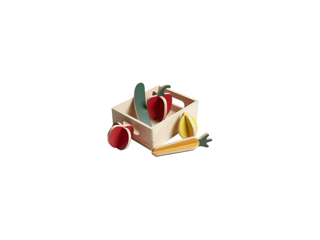 Flexa Dřevěná zelenina do obchodu