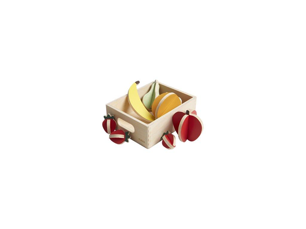 Flexa Dřevěné ovoce do obchodu