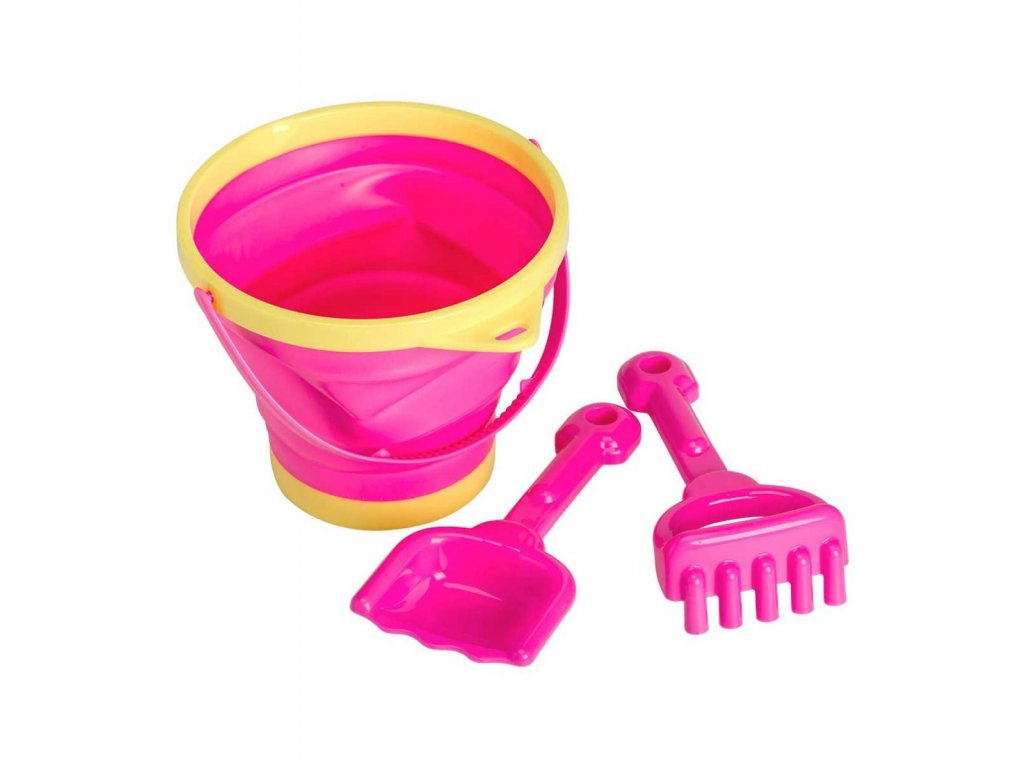 bspink03 lr 1 bucket and spade set pink