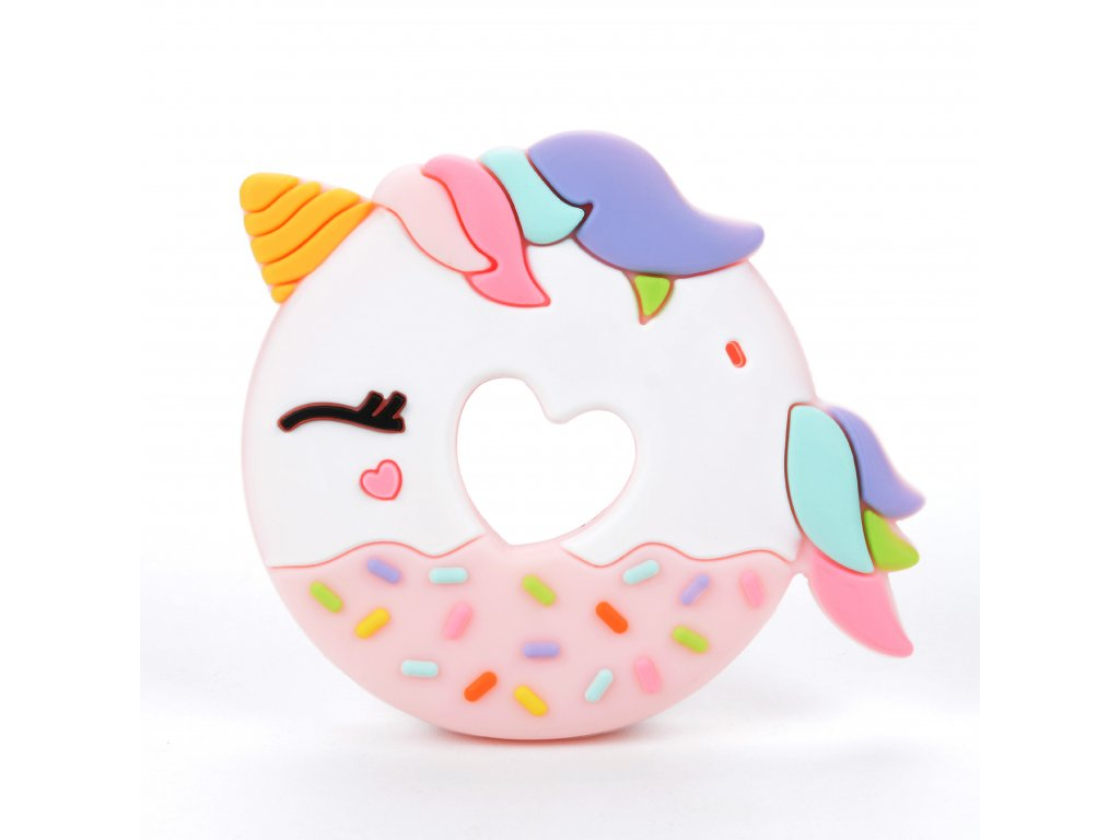 Pink Unicorn Donut Front