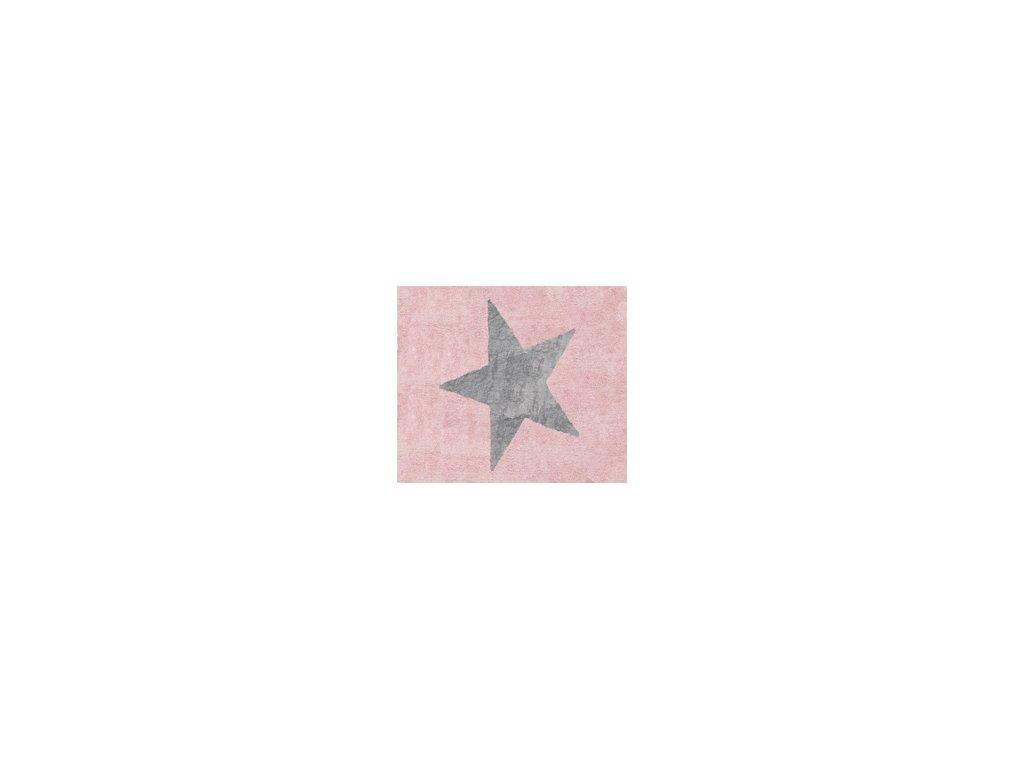 Aratextil Koberec Estela růžovo šedý 120 x 160 cm
