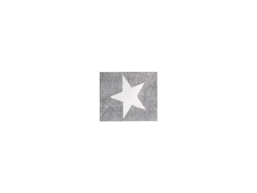 Aratextil Koberec Estela šedý 120 x 160 cm